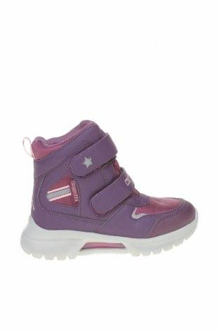 Детски обувки Kappa, Размер 29, Цвят Лилав, Еко кожа, текстил, Цена 45,82лв.