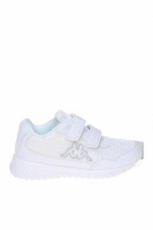 Детски обувки Kappa, Размер 26, Цвят Бял, Еко кожа, текстил, Цена 30,02лв.
