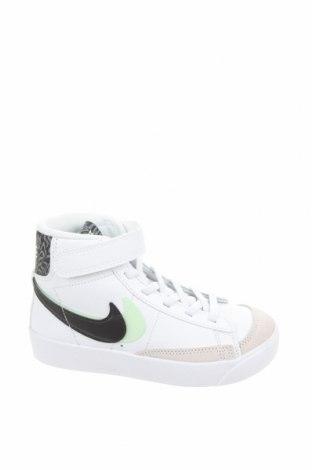 Dětské boty  Nike, Velikost 28, Barva Bílá, Pravá kůže, Přírodní velur , Cena  906,00Kč
