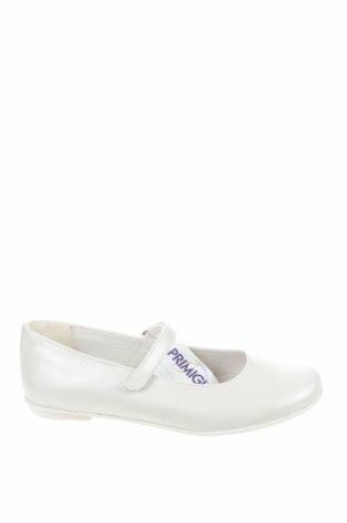 Детски обувки Primigi, Размер 35, Цвят Бял, Естествена кожа, Цена 30,02лв.