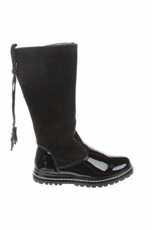 Детски обувки Primigi, Размер 31, Цвят Черен, Естествен велур, еко кожа, Цена 70,95лв.