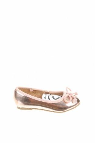 Παιδικά παπούτσια Reserved, Μέγεθος 24, Χρώμα Χρυσαφί, Δερματίνη, Τιμή 5,94€