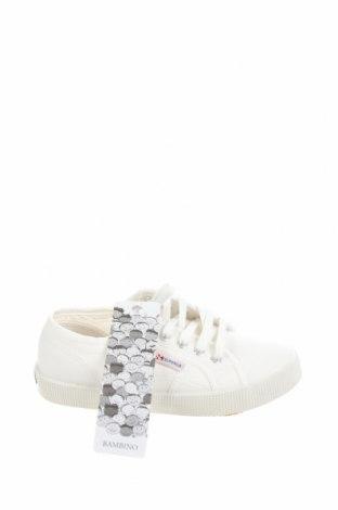 Детски обувки Superga, Размер 30, Цвят Бял, Текстил, Цена 28,34лв.