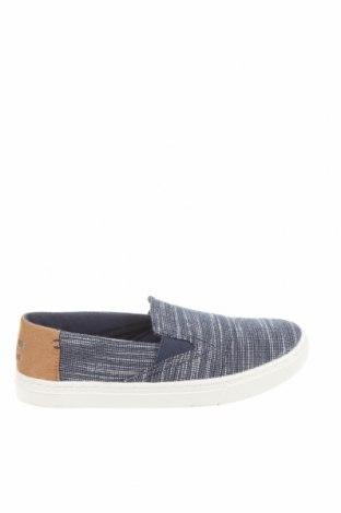 Детски обувки Toms, Размер 35, Цвят Син, Текстил, Цена 26,22лв.