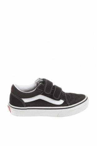 Детски обувки Vans, Размер 31, Цвят Черен, Естествена кожа, текстил, Цена 44,55лв.