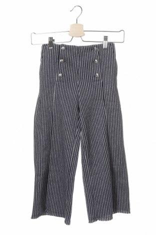 Детски панталон Dondup, Размер 6-7y/ 122-128 см, Цвят Син, 65% памук, 16% метални нишки, 15% полиестер, 4% други материали, Цена 134,25лв.