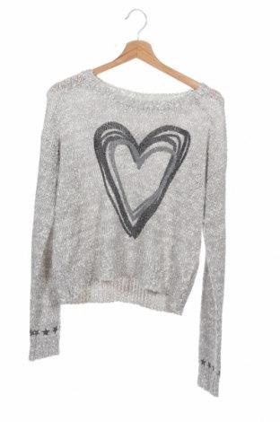 Dziecięcy sweter KappAhl, Rozmiar 15-18y/ 170-176 cm, Kolor Szary, 90%akryl, 10% poliamid, Cena 44,55zł