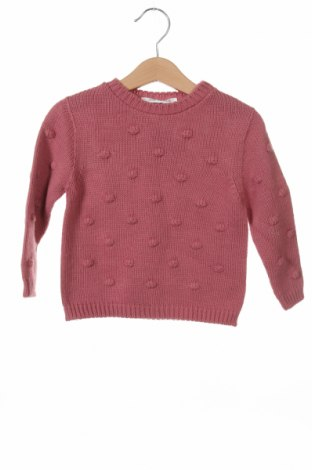 Детски пуловер Little Celebs, Размер 2-3y/ 98-104 см, Цвят Розов, Акрил, Цена 14,75лв.