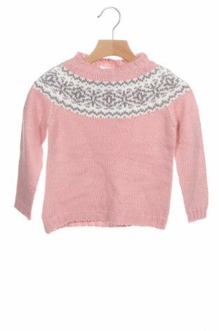 Детски пуловер Little Celebs, Размер 18-24m/ 86-98 см, Цвят Розов, Цена 16,00лв.