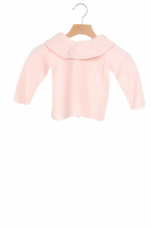 Детски пуловер Lola Palacios, Размер 9-12m/ 74-80 см, Цвят Розов, Цена 13,50лв.