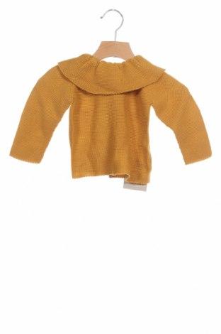 Детски пуловер Lola Palacios, Размер 9-12m/ 74-80 см, Цвят Оранжев, Цена 40,50лв.