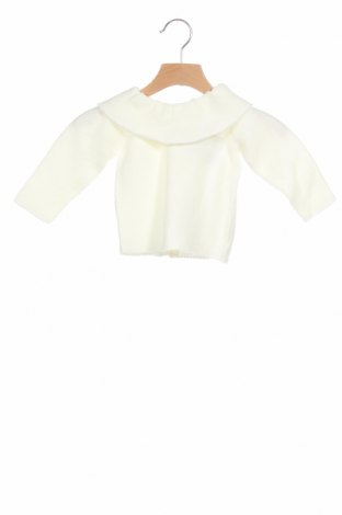 Детски пуловер Lola Palacios, Размер 9-12m/ 74-80 см, Цвят Екрю, Цена 13,50лв.