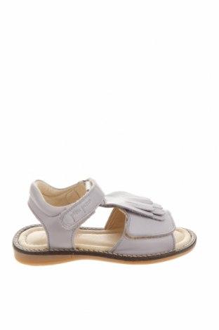 Детски сандали Pom Pom, Размер 28, Цвят Лилав, Естествена кожа, Цена 26,91лв.