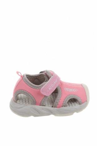 Детски сандали Primigi, Размер 21, Цвят Розов, Текстил, Цена 18,36лв.
