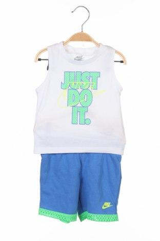 Dětský sportovní komplet  Nike, Velikost 12-18m/ 80-86 cm, Barva Bílá, Bavlna, Cena  480,00Kč