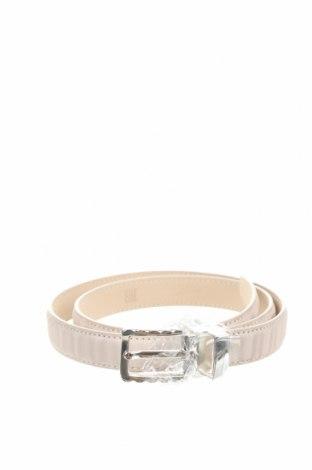 Ζώνη Anthoni Crown, Χρώμα  Μπέζ, Γνήσιο δέρμα, Τιμή 19,56€