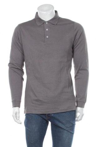 Мъжка блуза Montego, Размер L, Цвят Сив, Памук, Цена 36,00лв.