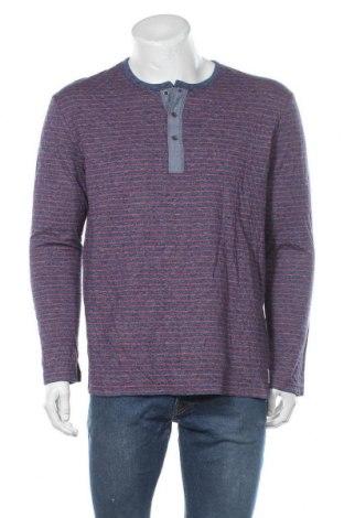 Bluză de bărbați Tom Tailor, Mărime XL, Culoare Albastru, 75% bumbac, 25% poliester, Preț 71,05 Lei