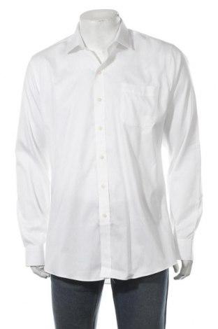 Мъжка риза, Размер L, Цвят Бял, Памук, Цена 17,28лв.