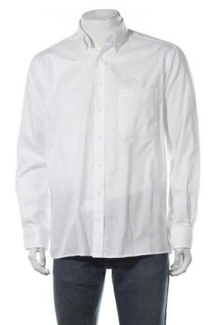 Мъжка риза Eterna, Размер M, Цвят Бял, Памук, Цена 36,75лв.