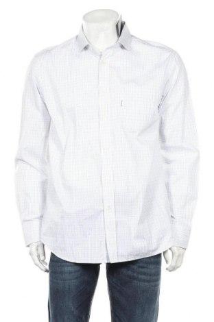 Мъжка риза Faconnable, Размер L, Цвят Многоцветен, Памук, Цена 66,15лв.