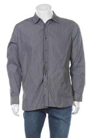 Ανδρικό πουκάμισο Banana Republic, Μέγεθος L, Χρώμα Γκρί, 74% βαμβάκι, 26% πολυαμίδη, Τιμή 7,96€