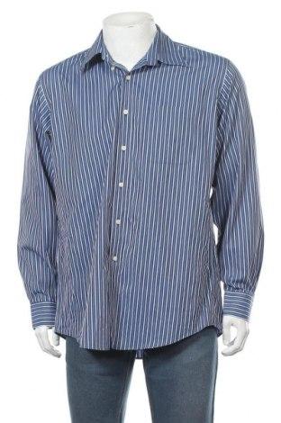 Мъжка риза Kirkland, Размер L, Цвят Син, Памук, Цена 17,85лв.
