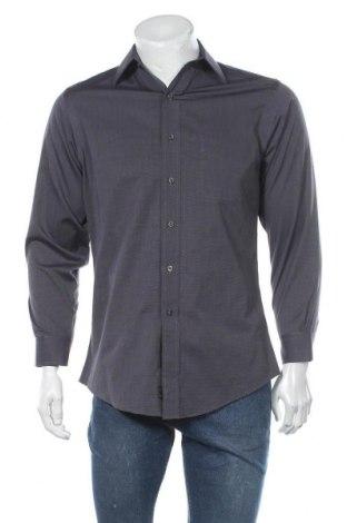 Мъжка риза Kirkland, Размер M, Цвят Сив, Памук, Цена 14,33лв.