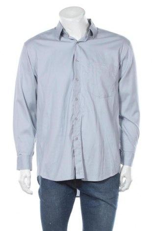 Мъжка риза Pierre Cardin, Размер XL, Цвят Син, Памук, Цена 30,24лв.