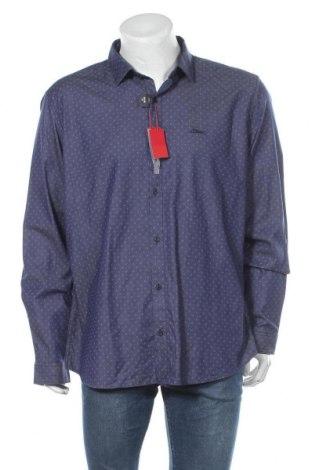 Мъжка риза S.Oliver, Размер XXL, Цвят Син, 96% памук, 4% еластан, Цена 30,02лв.