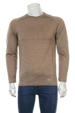 Мъжка спортна блуза Everlast, Размер S, Цвят Бежов, Полиестер, Цена 15,44лв.