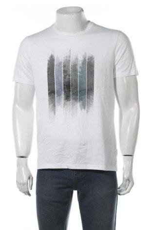 Мъжка тениска Armedangels, Размер L, Цвят Бял, Памук, Цена 16,50лв.