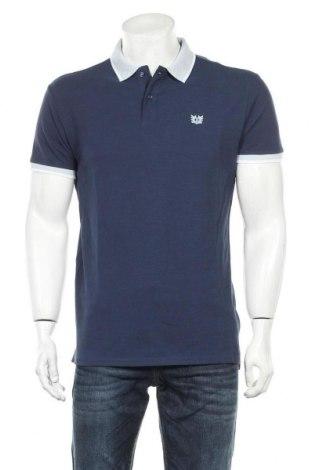 Мъжка тениска Bendorff, Размер M, Цвят Син, Памук, Цена 18,15лв.