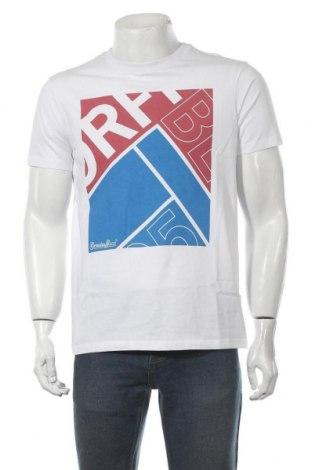 Tricou de bărbați Bendorff, Mărime M, Culoare Alb, Bumbac, Preț 45,79 Lei