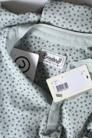 Мъжка тениска Bendorff, Размер M, Цвят Син, Памук, Цена 22,04лв.