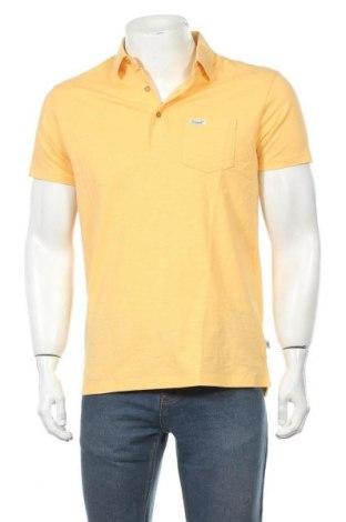 Мъжка тениска Bendorff, Размер M, Цвят Жълт, Памук, Цена 20,72лв.
