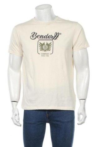 Мъжка тениска Bendorff, Размер M, Цвят Бежов, Памук, Цена 16,82лв.