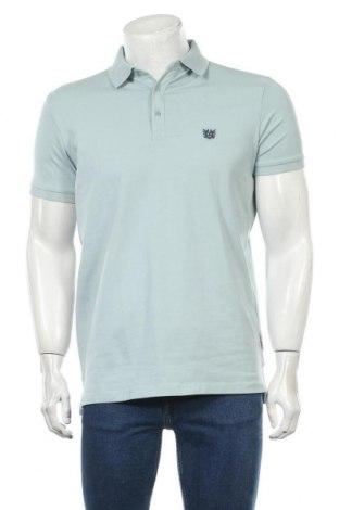 Tricou de bărbați Bendorff, Mărime M, Culoare Albastru, 95% bumbac, 5% elastan, Preț 52,50 Lei