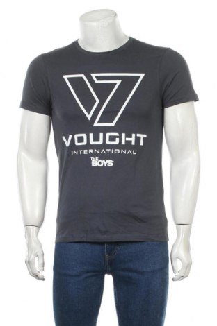 Мъжка тениска Cotton Division, Размер S, Цвят Син, Памук, Цена 11,60лв.