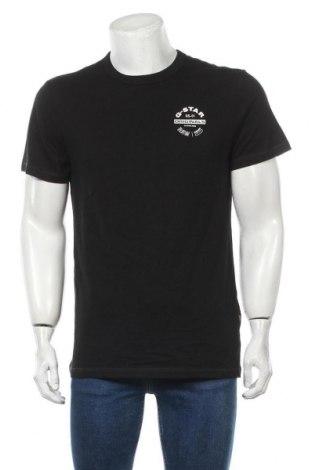 Мъжка тениска G-Star Raw, Размер M, Цвят Черен, Памук, Цена 48,95лв.