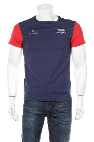 Мъжка тениска Hackett x Aston Martin Racing, Размер M, Цвят Многоцветен, Памук, Цена 53,40лв.
