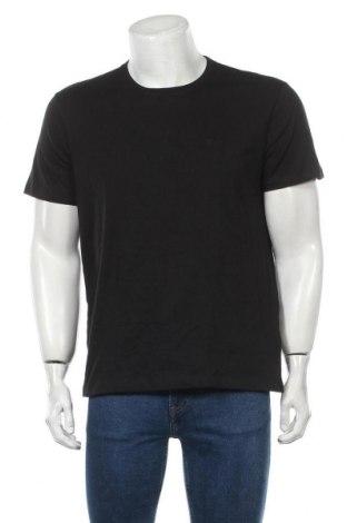 Мъжка тениска Hugo Boss, Размер M, Цвят Черен, Памук, Цена 11,92лв.
