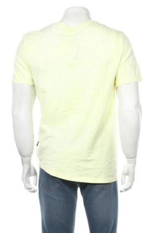 Мъжка тениска Lft, Размер M, Цвят Жълт, Памук, Цена 13,96лв.