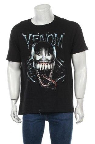 Мъжка тениска Marvel, Размер XL, Цвят Черен, Памук, Цена 19,50лв.