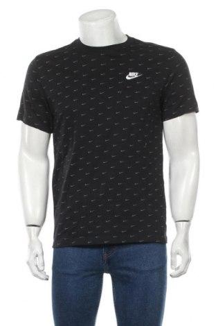 Мъжка тениска Nike, Размер M, Цвят Черен, Памук, Цена 48,00лв.