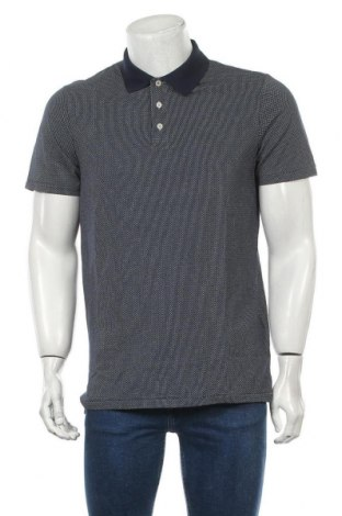 Мъжка тениска Premium By Jack & Jones, Размер L, Цвят Син, Памук, Цена 29,40лв.