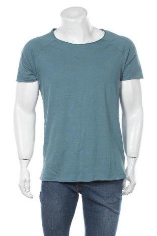 Мъжка тениска Review, Размер M, Цвят Зелен, Памук, Цена 9,80лв.