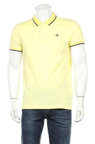 Мъжка тениска Tom Tailor, Размер M, Цвят Жълт, Памук, Цена 24,00лв.