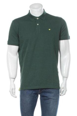 Мъжка тениска Tom Tailor, Размер L, Цвят Зелен, Памук, Цена 29,40лв.