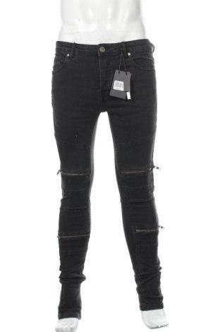 Мъжки дънки Brave Soul, Размер M, Цвят Черен, 98% памук, 2% еластан, Цена 29,67лв.